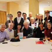 Authors anthologized in Magic of Memoir (I'm front row, fourth from left)